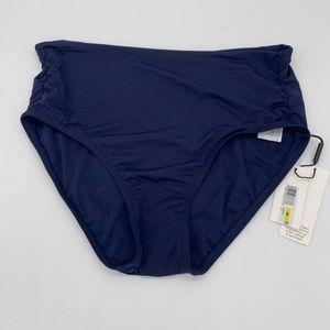 Calvin Klein Convertible Bikini Bottoms Navy M